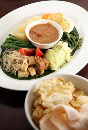 asian food named gado-gado Stock Photo - 7583295