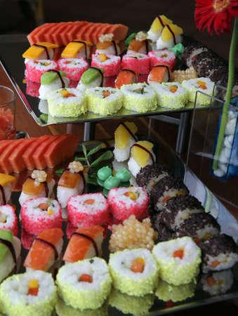 japanese sushi food photo