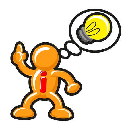 big business: Ilustraci�n del icono de la idea de