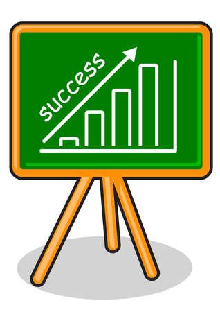 illustration of business board Vector