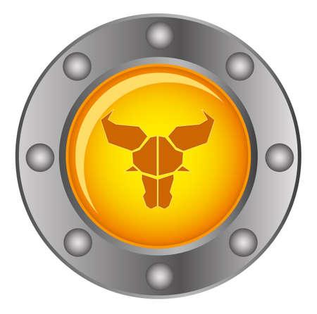 illustration of zodiac Stock Vector - 10882002