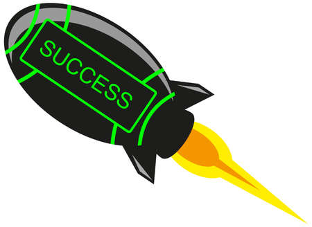 business flying: Success Rocket