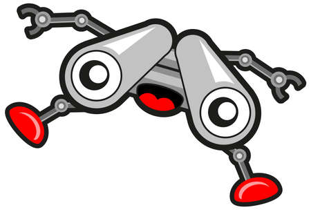 Spy Robot Stock Vector - 10881991