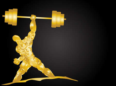 barbell: fitness Illustration