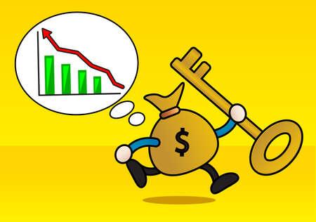 businessman planning Stock Vector - 12288767
