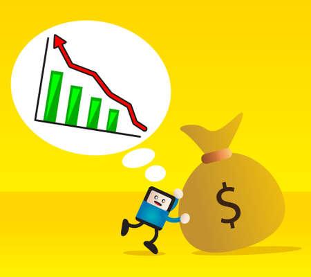 businessman planning Stock Vector - 12288768