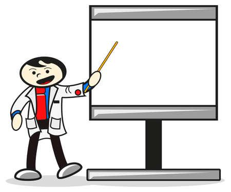 patient: illustratie van de vector object