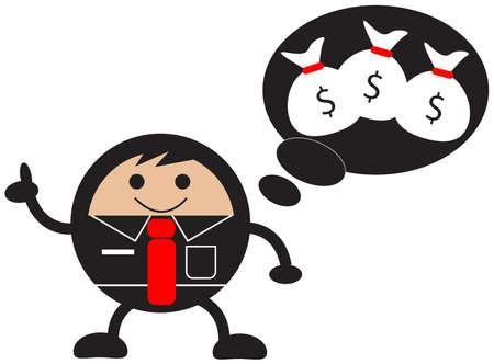 businessman activity Vector