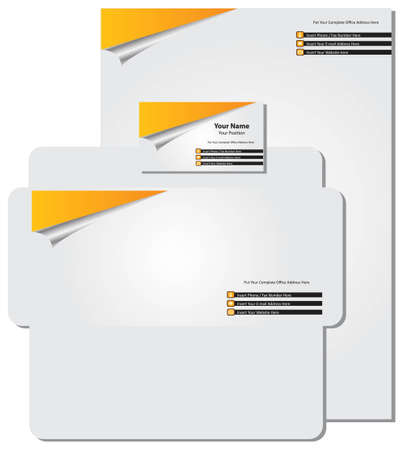 letter head: business card