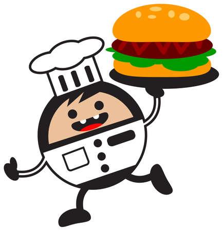 cartoon chef Stock Vector - 12795715