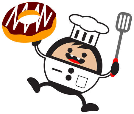 cartoon chef Stock Vector - 12795717