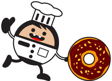 illustration of funny chef Stock Vector - 13083731