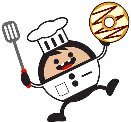 illustration of funny chef Vector