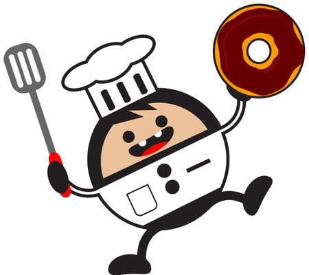 illustration of funny chef Stock Vector - 13083713
