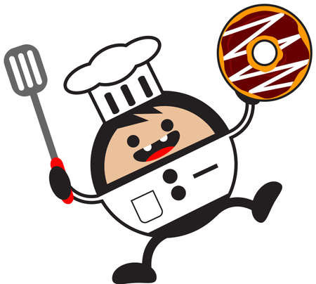 illustration of funny chef Stock Vector - 13083709