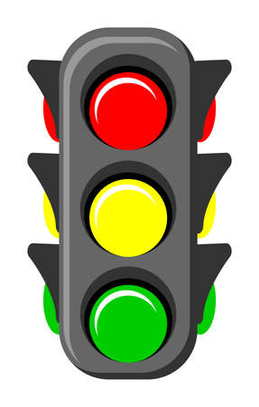 traffic light Stock Vector - 13196829