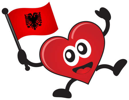 albanian: love country