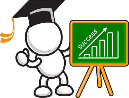 illustration of business motivation Stock Vector - 14222212