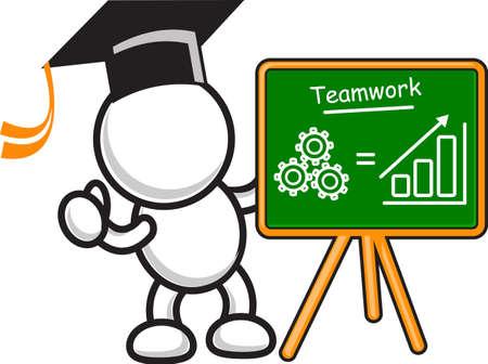illustration of business motivation Vector
