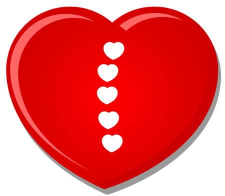heart font type Stock Vector - 14785427