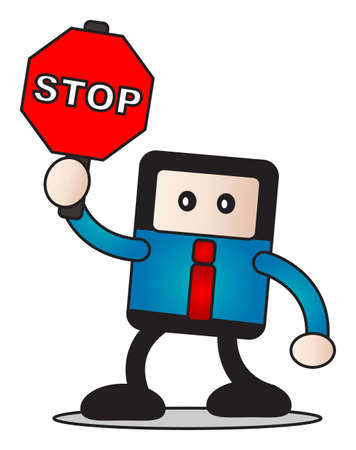 traffic sign Stock Vector - 15098493