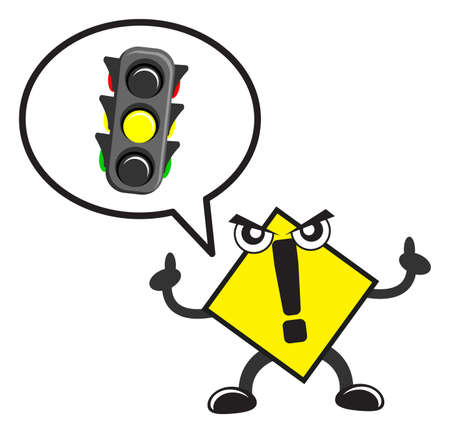 traffic control: signo tr�fico Vectores
