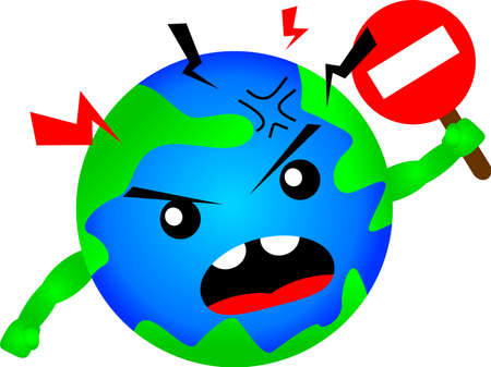 stop global warming Vector