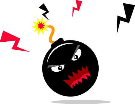 la terreur bombe Banque d'images - 16118948