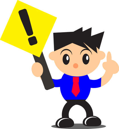 illustration of businessman activity Stock Vector - 16332243