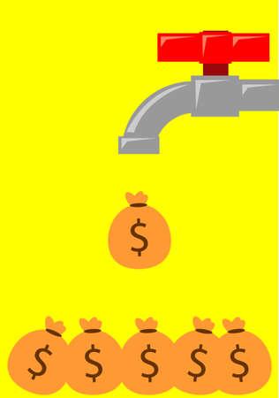 making money Stock Vector - 17137889