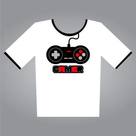 gamers: gamers t-shirt  Illustration