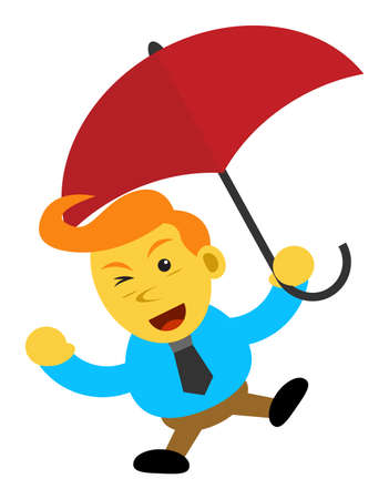 motivator: businessman cartoon character