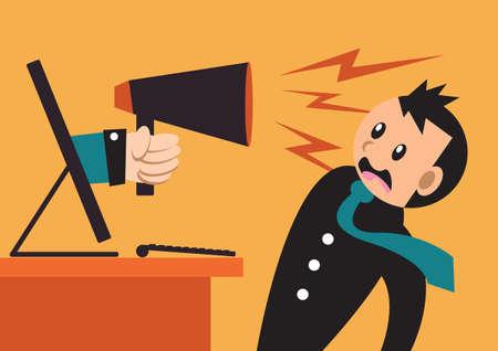 loud speaker: loud speaker