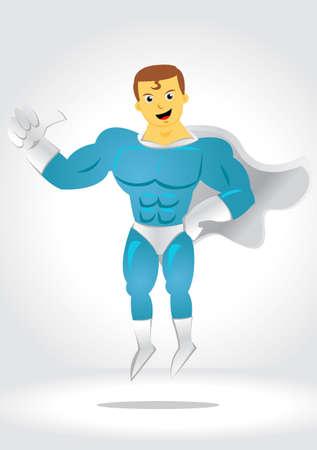reliable: SuperHero Illustration
