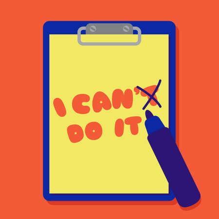 Change I Can't Do It Become I Can Do It!
