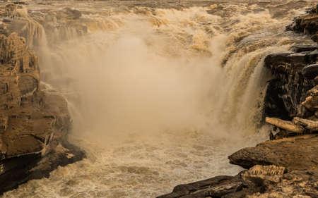 Hukou waterval, de gele rivier, China