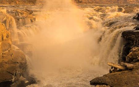 Hukou Waterfall, the Yellow River, China