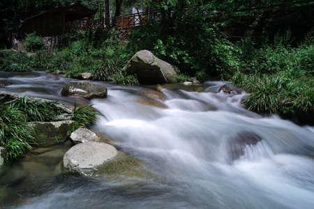 steep: Zhangjiajie Wulingyuan Forest Park Stock Photo