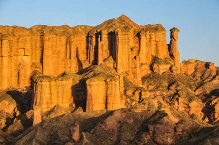 Zhangye Danxia Geological Park Stock Photo