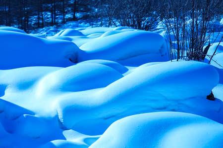 Winter scenery in Northeast Yichun