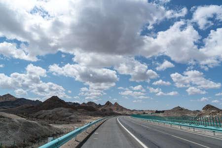 노스 웨스트 사막 고속도로 스톡 콘텐츠