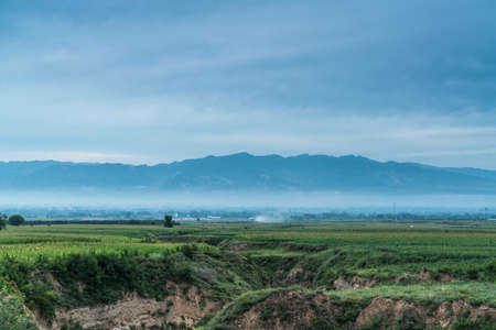 Rural scenery in Central China