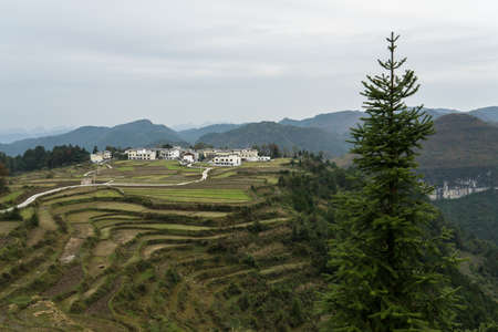 Huaxi Plateau 版權商用圖片 - 95898360