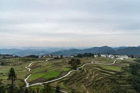 Huaxi Plateau 版權商用圖片 - 95898389