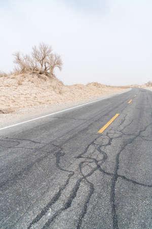 China's Xinjiang Bazhou Highway