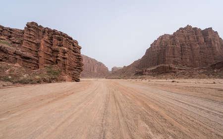 Wensu Grand Canyon in Aksu Prefecture, Xinjiang