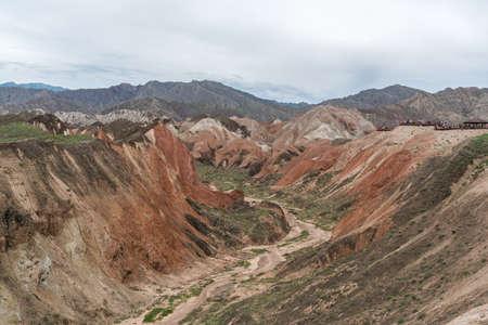 Danxia Geopark, Zhangye, Gansu, China