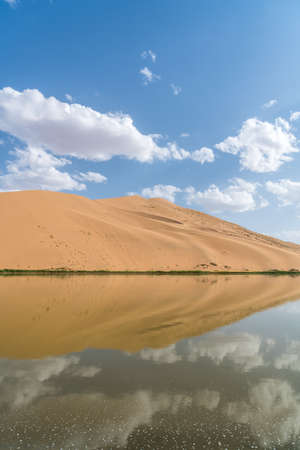 China's Inner Mongolia Badain Jilin Desert Scenery