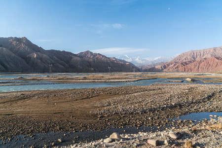 Pamirs scenery in Kashgar, Xinjiang, China