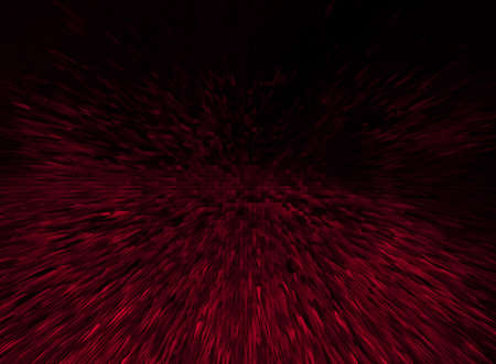 black background with red needles. abstract image  Stock Photo